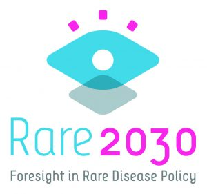 Rare2030 logo